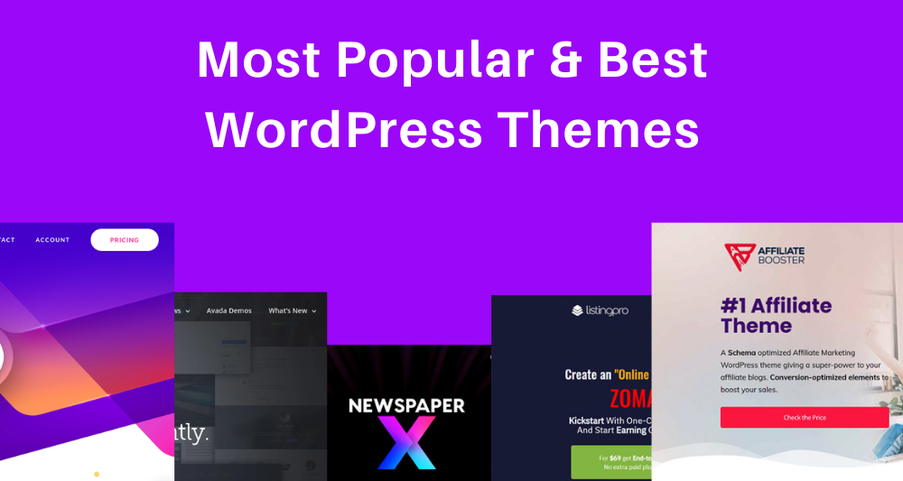 Most Popular & Best WordPress Themes 2020