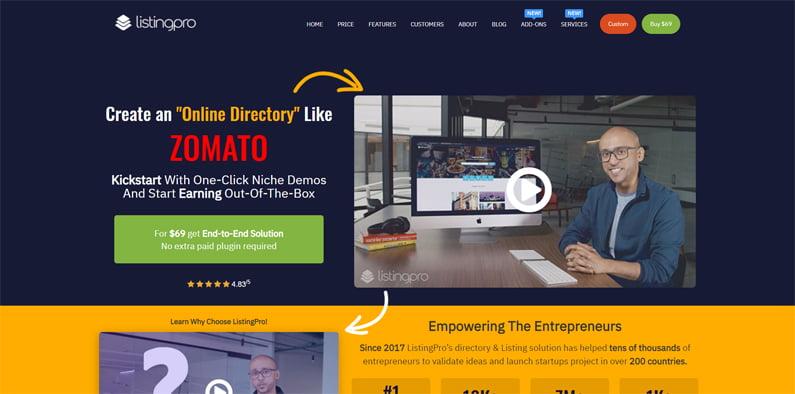 listingpro | Bharati Technologies