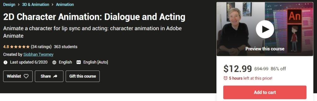 animation courses online