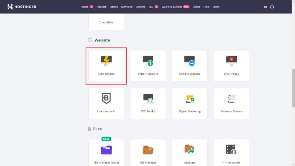 website auto installer host | Bharati Technologies